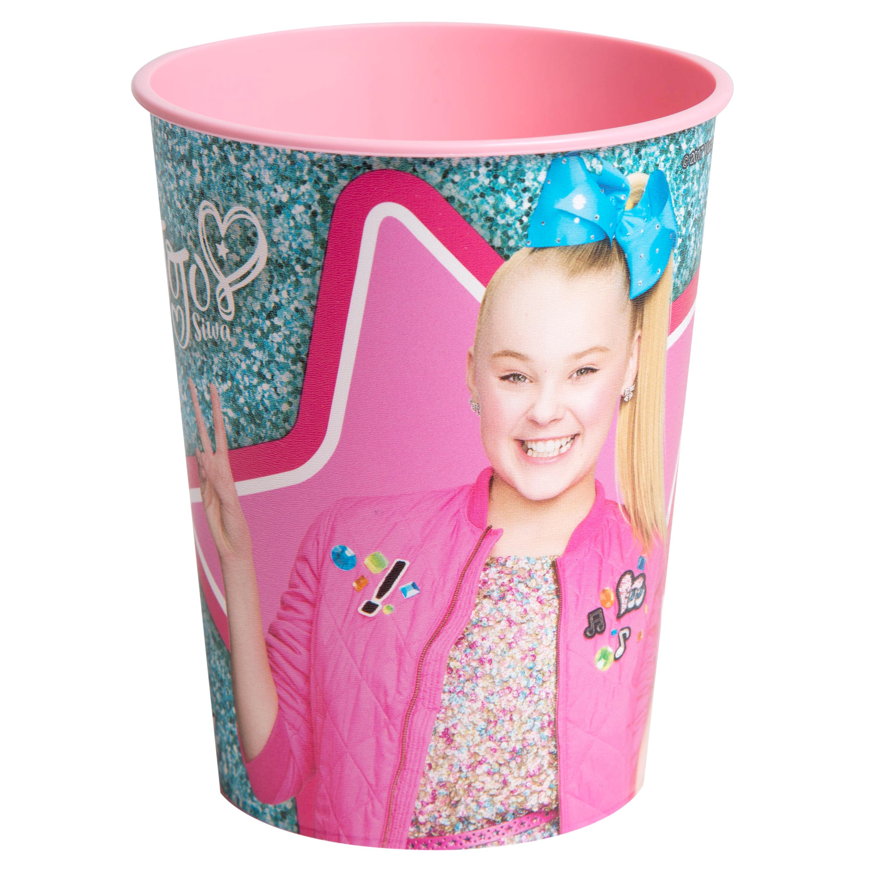 JoJo Siwa 16 oz Party Stadium Cup (Sparkle)