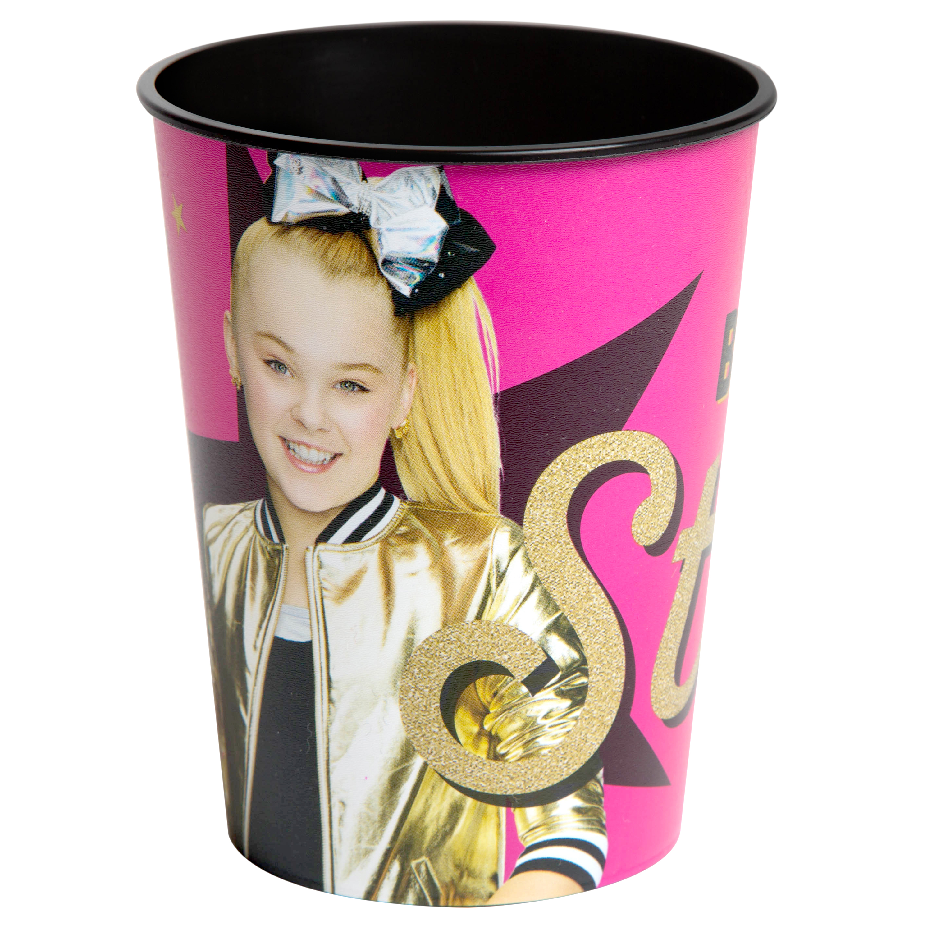 JoJo Siwa 16 oz Party Stadium Cup (Be Your Own Star)