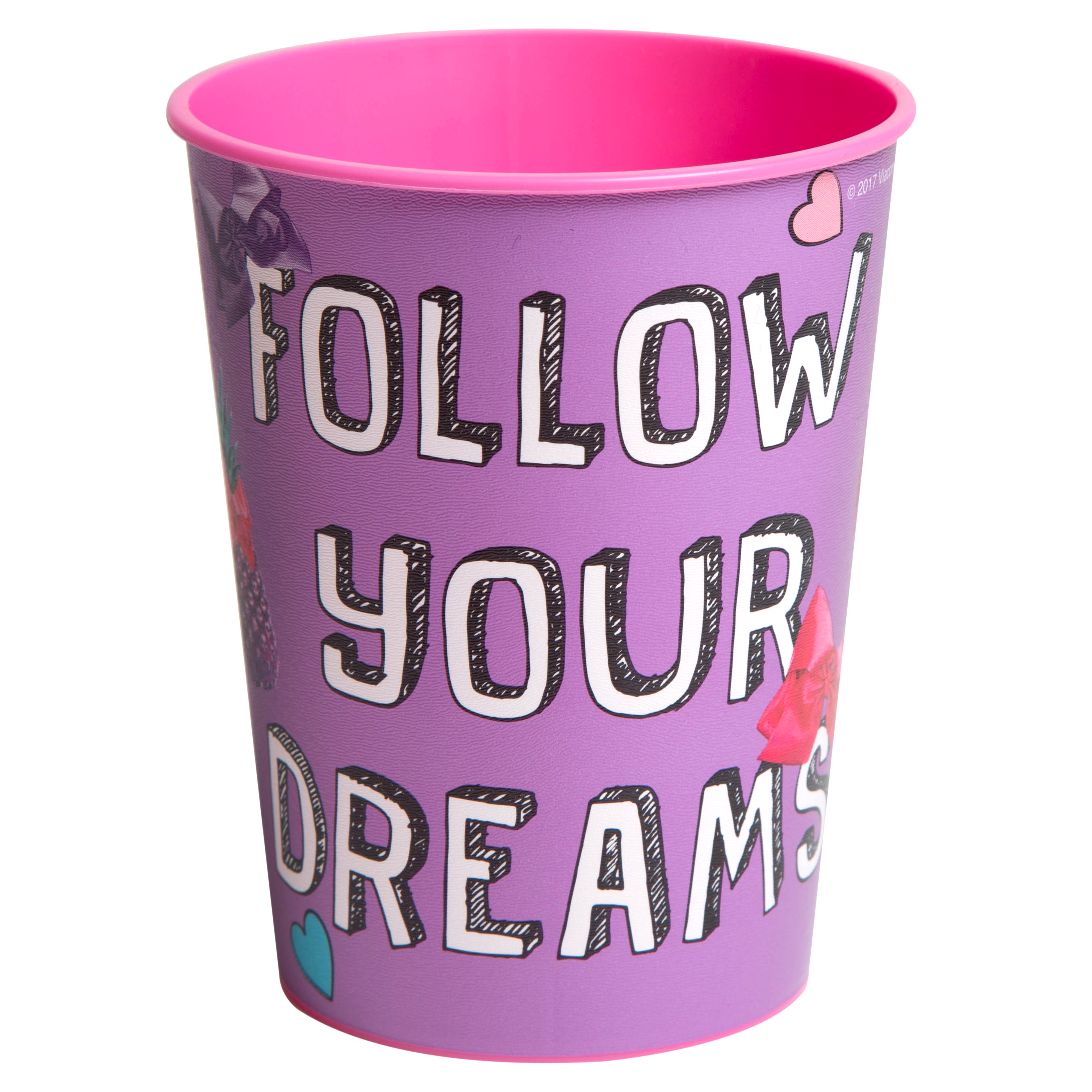 JoJo Siwa 16 oz Party Stadium Cup (Follow Your Dreams)