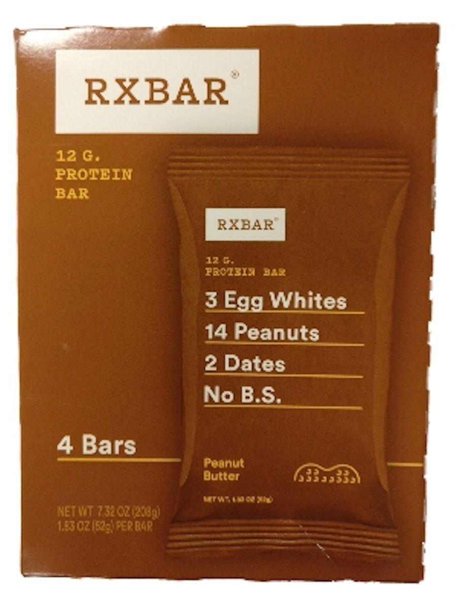 RXBar Protein Bar 4 Bar Pack (Peanut Butter)