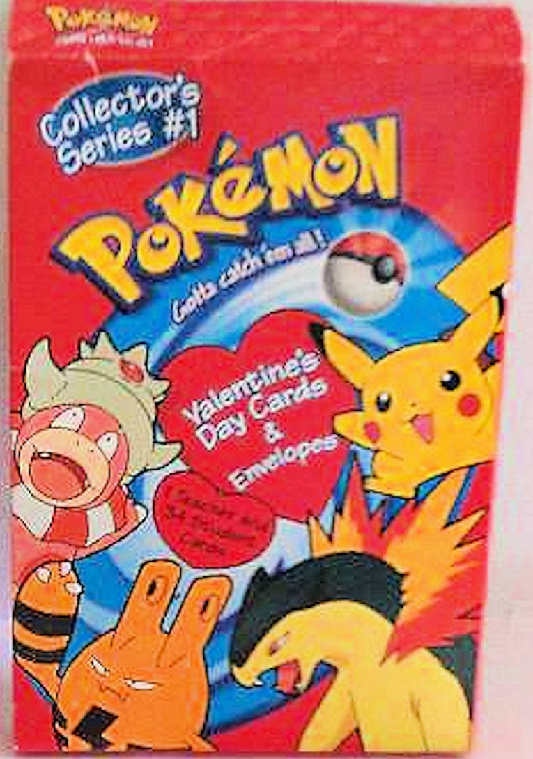 Pokemon Valentines Cards Collectors Series #1 Includes 34 student cards & 1 teacher card with envelopes by Carlton Cards