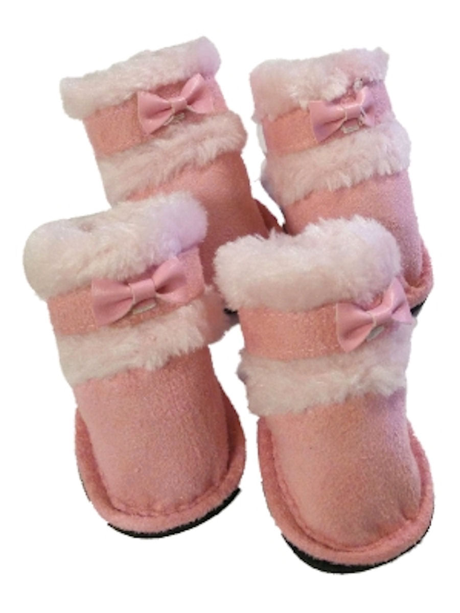SimplyShe Dog Shoes Lulu Pink (S)