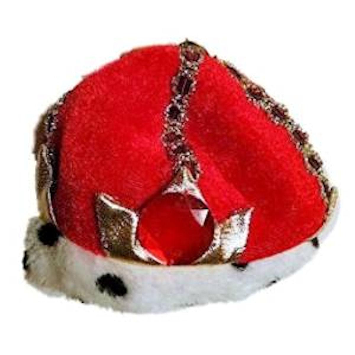 Rubie's King's Crown Costume Dog Hat