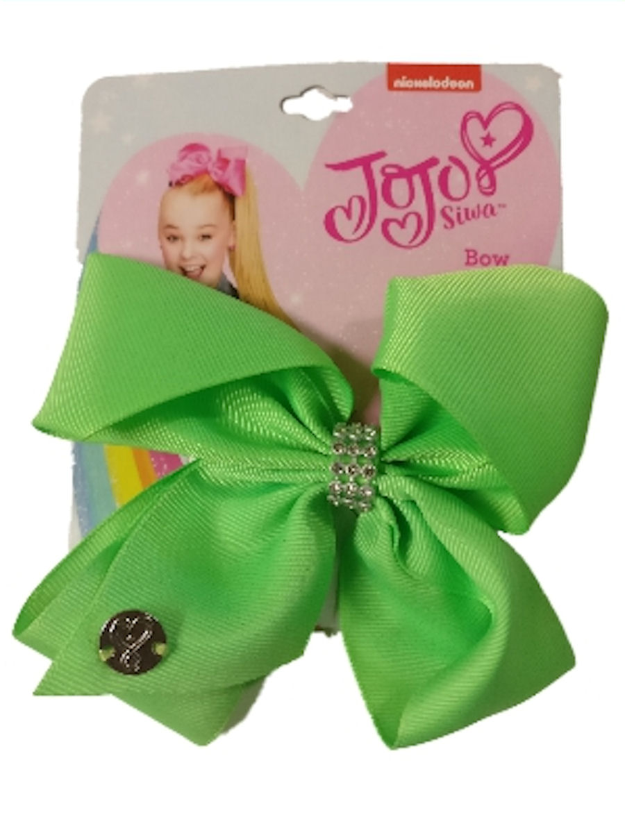 JoJo Siwa Medium Hair Bow (Green)