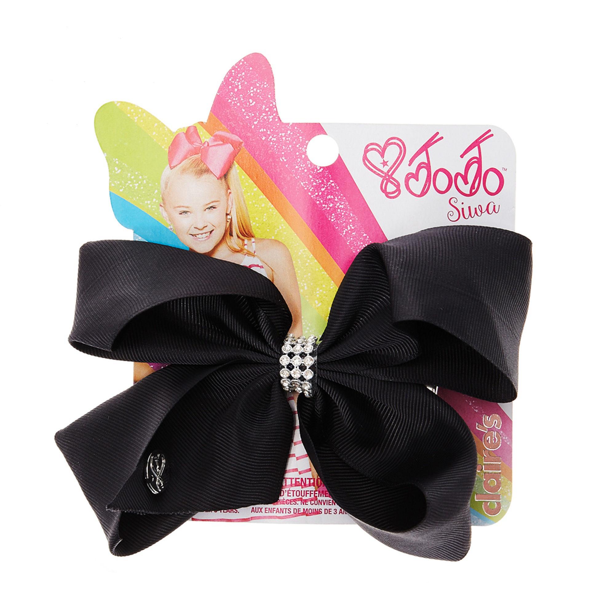 JoJo Siwa Medium Hair Bow (Black)