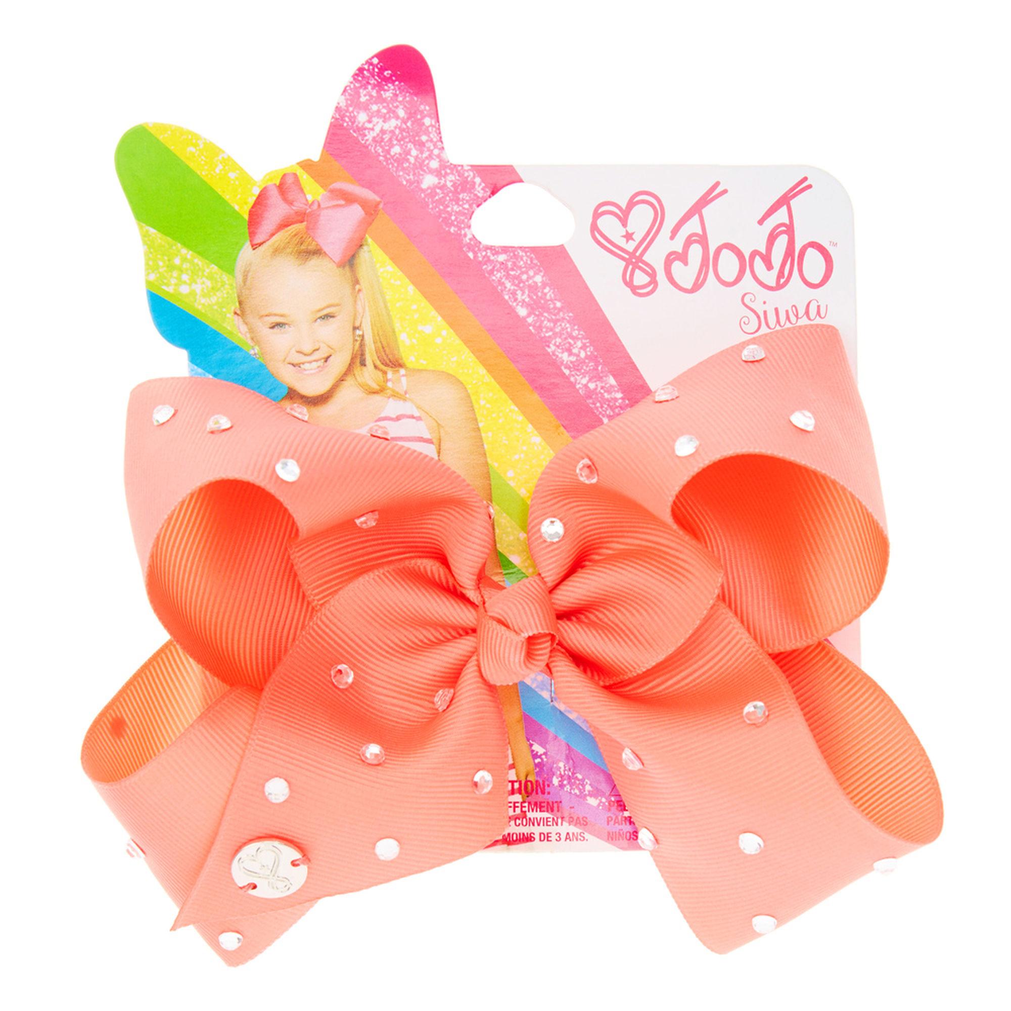 JoJo Siwa Medium Hair Bow (Coral Pink), JoJo Siwa [Designer]