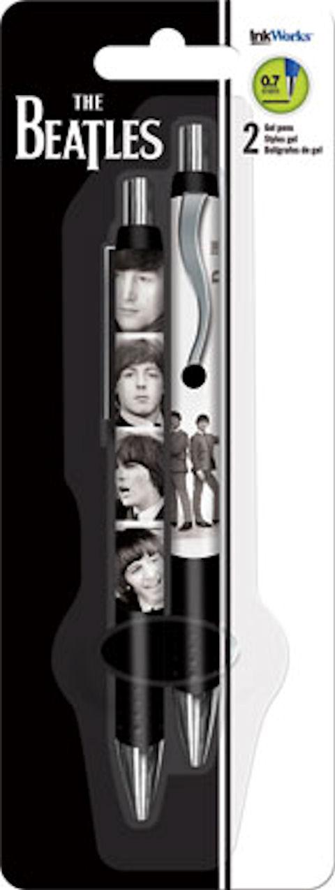 The Beatles Band Gel Pen Set 2 Pens