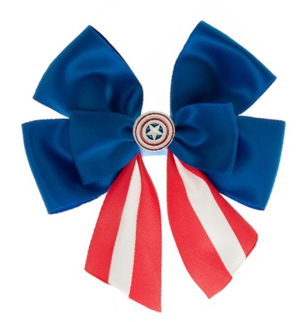 Marvel Comics Captain America Hair Bow