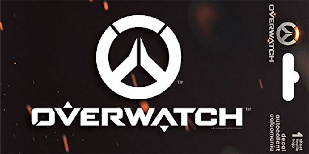Overwatch Decal Sticker