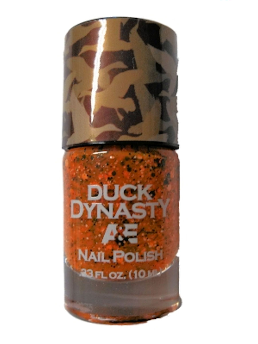 Duck Dynasty Nail Polish (Orange Safety Vest)