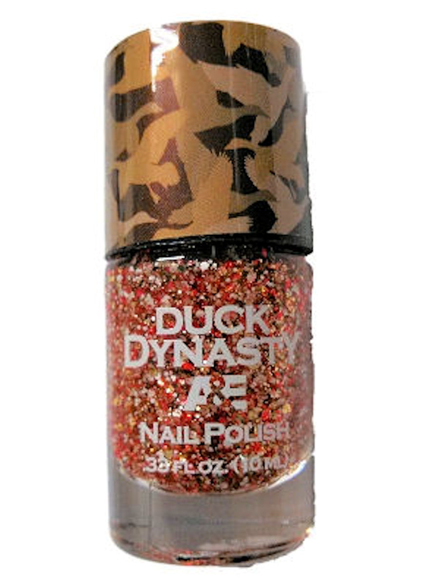 Duck Dynasty Nail Polish (Yuppie Holiday Party)