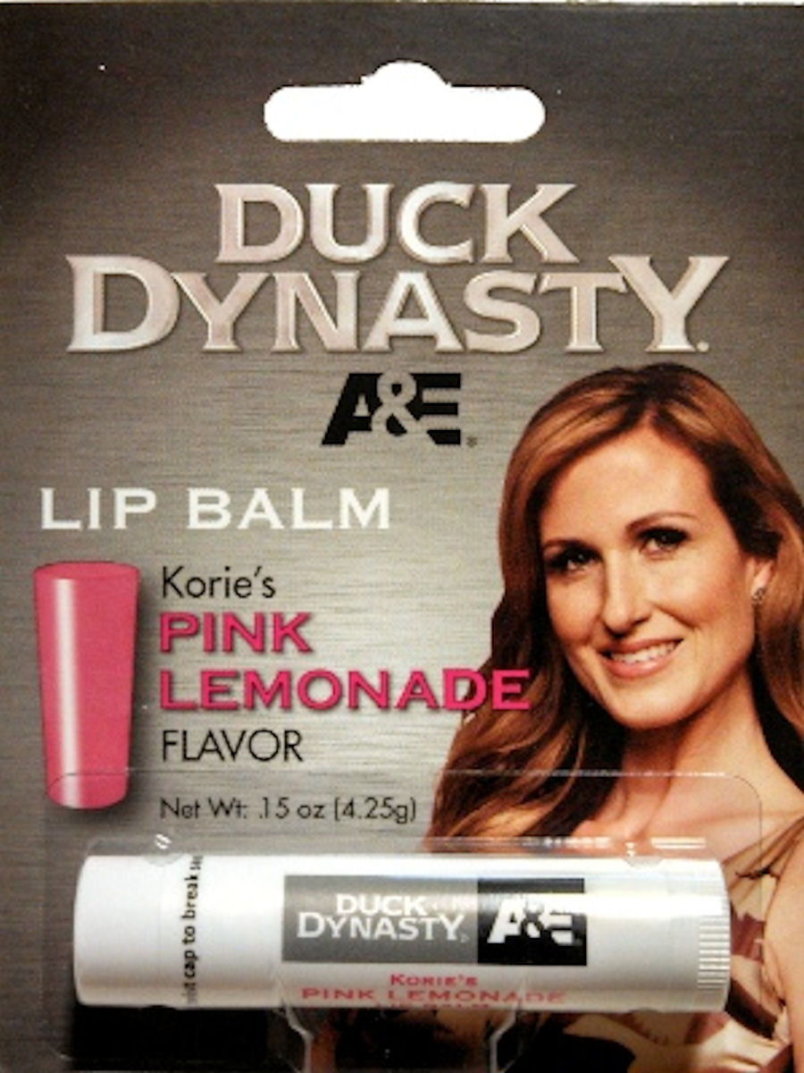 Duck Dynasty Lip Balm Korie's Pink Lemonade