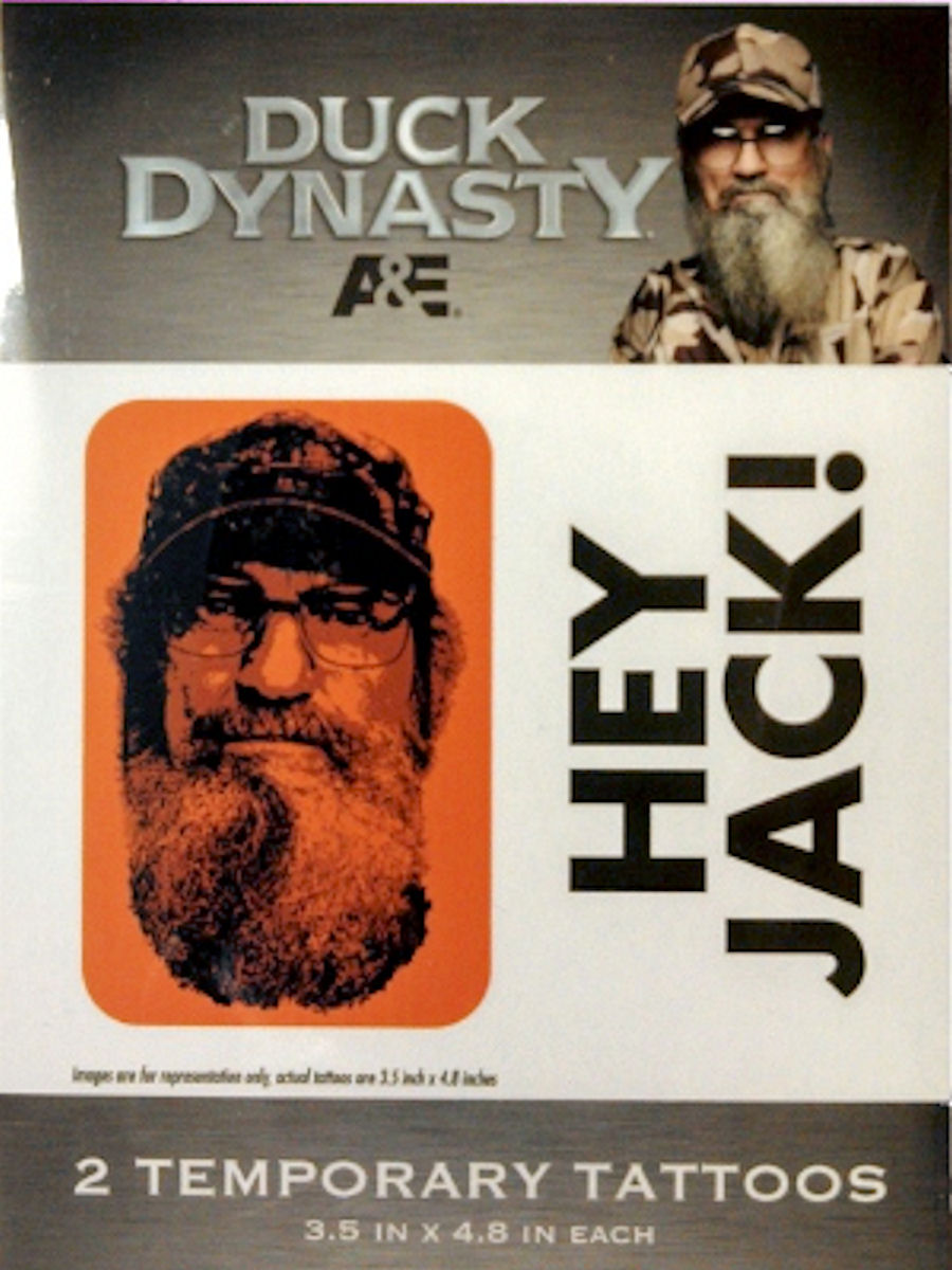 Duck Dynasty Temporary Tattoos (Hey Jack)