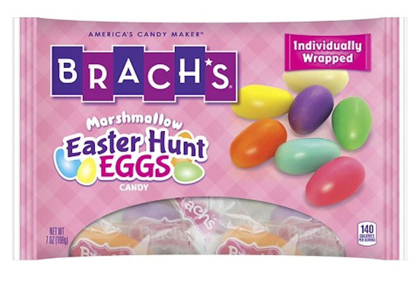 Brach's Easter Hunt Eggs Marshmallow Candy 7 oz