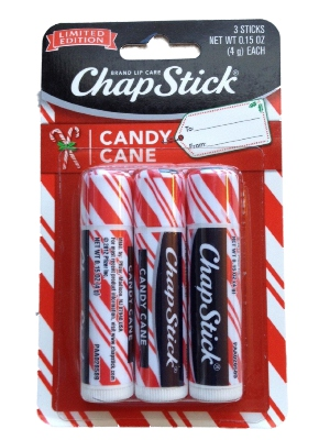 Chapstick Limited Edition Candy Cane 3 Pack