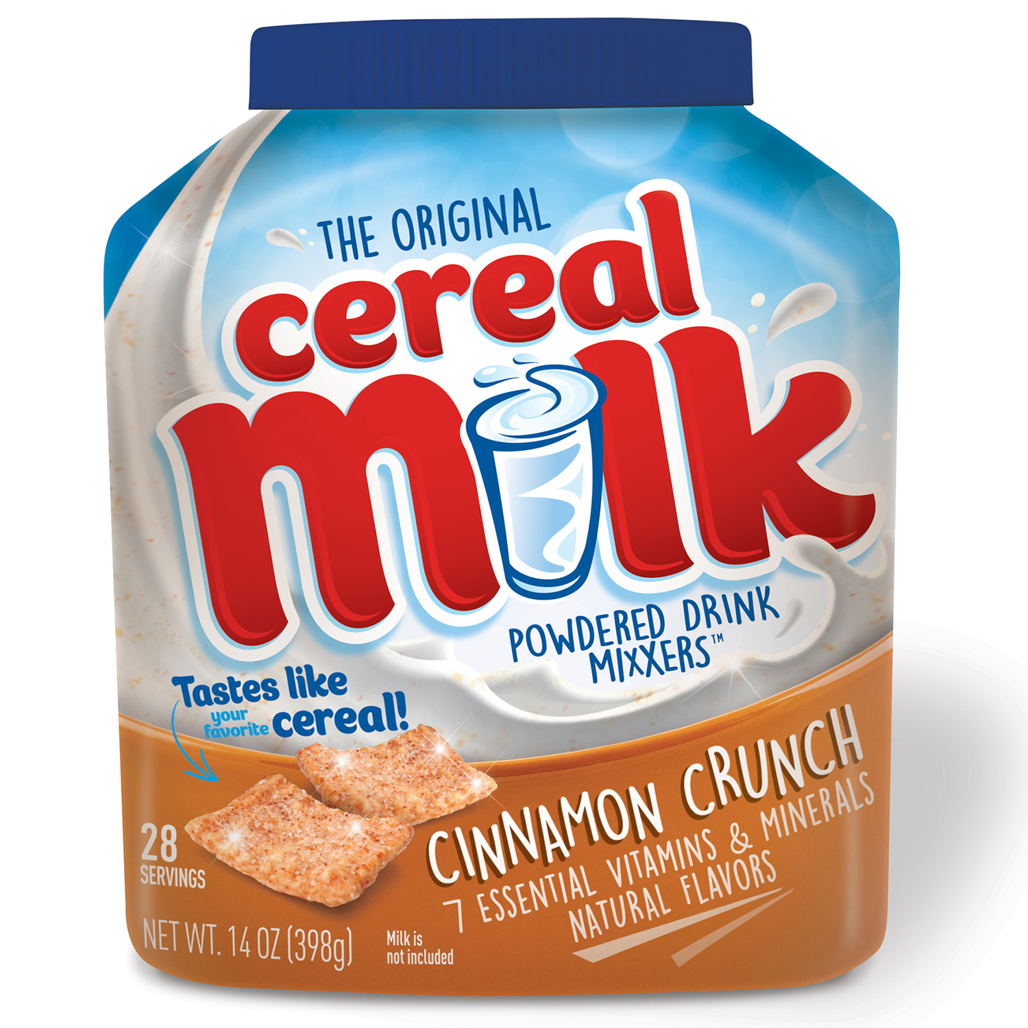 The Original Cereal Milk Mixxers Cinnamon Crunch 14 oz