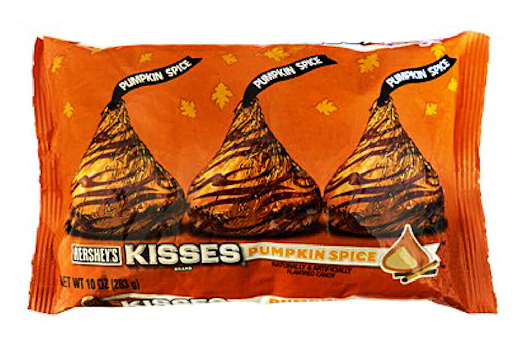 Hershey's Kisses Pumpkin Spice 10-Ounce