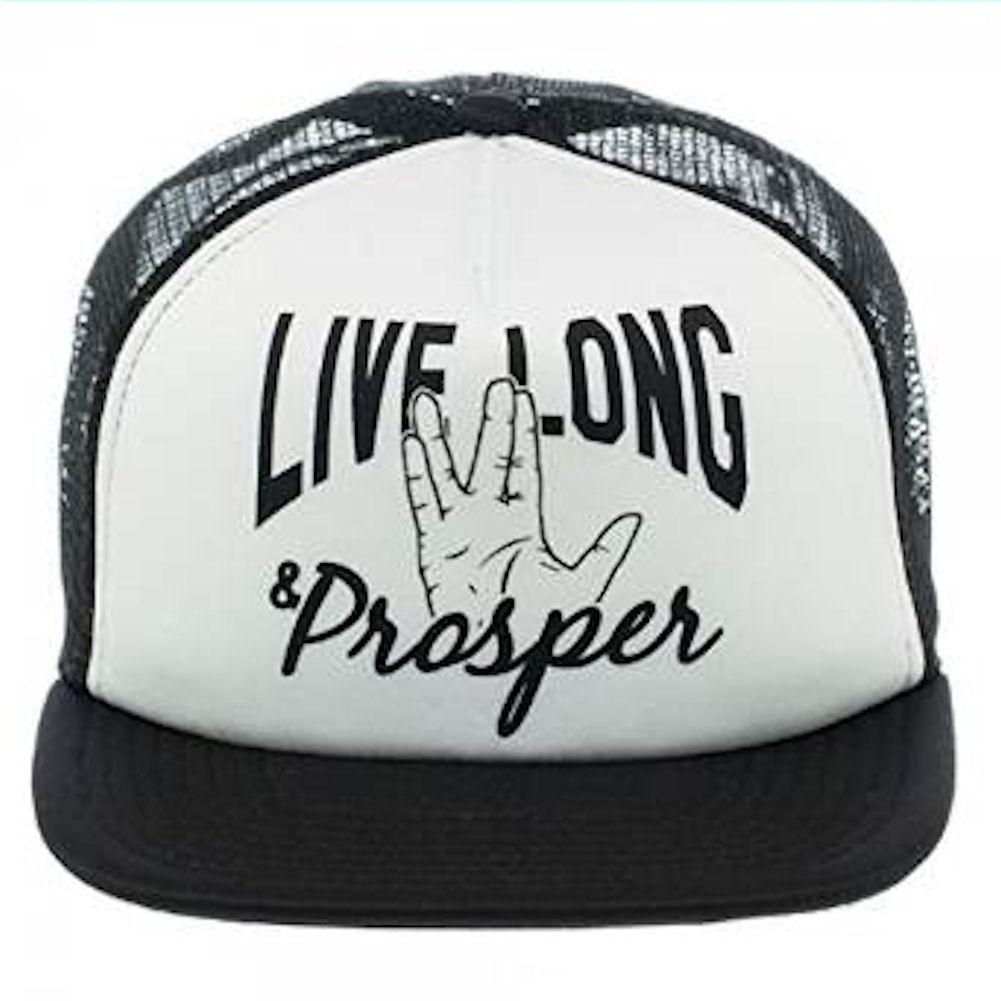 Star Trek Live Long & Prosper Trucker Mesh Hat