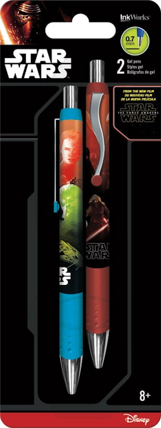 Star Wars The Force Awakens Gel Pen 2 Pack
