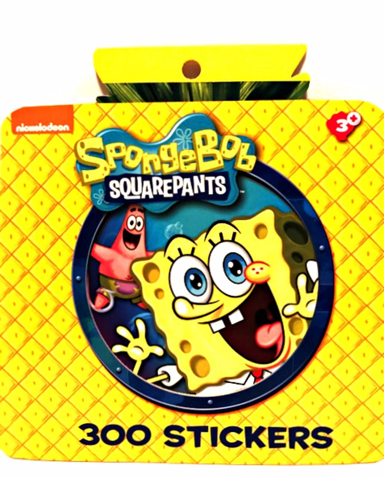 Nickelodeon Spongebob Squarepants 300 Stickers Book