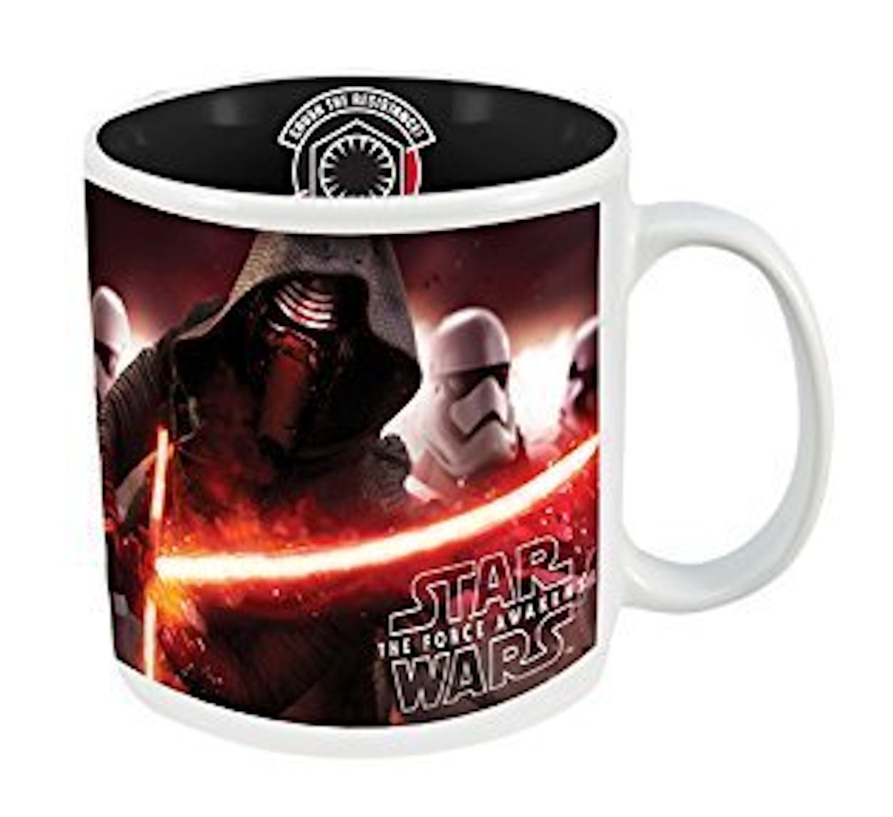 Star Wars Dark Side Coffee Mug Featuring Kylo Ren