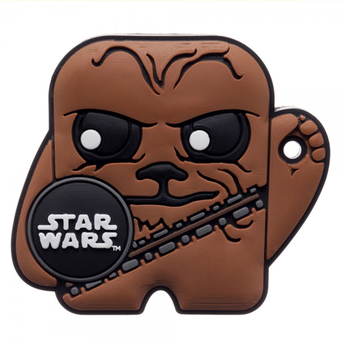 Star Wars Foundmi Bluetooth Tracking Tag for Android & IOS (Chewbacca)