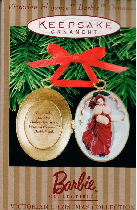 Hallmark Ornament 1997 Victorian Elegance Barbie
