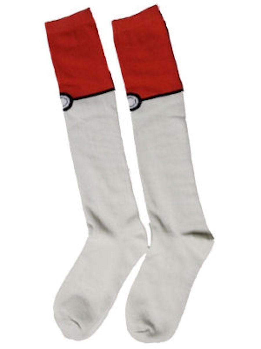 Bioworld Pokemon Pokeball Knee High Socks