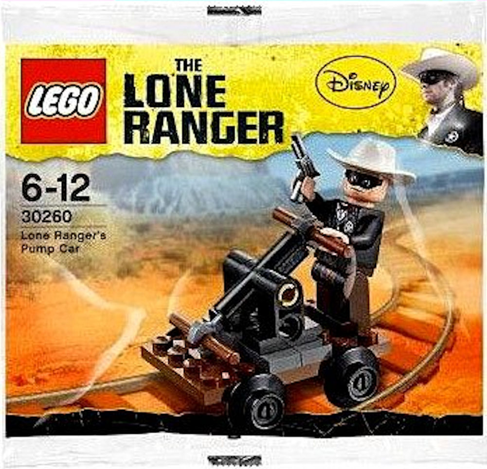 LEGO The Lone Ranger 30260 Pump Car