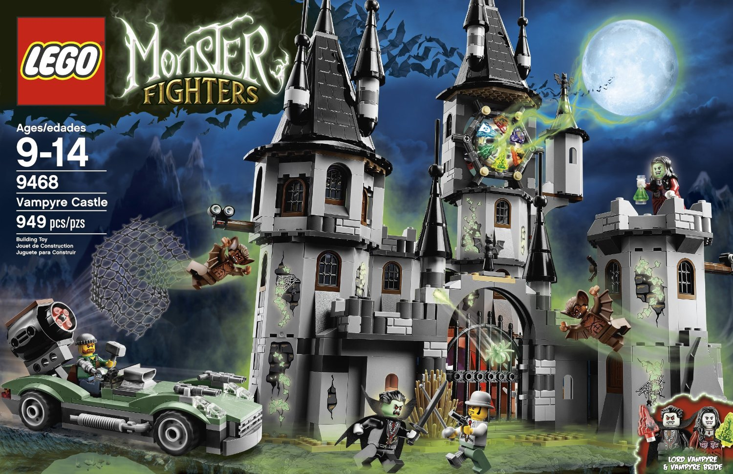 LEGO Monster Fighters 9468 Vampyre Castle, LEGO Monster Fighters