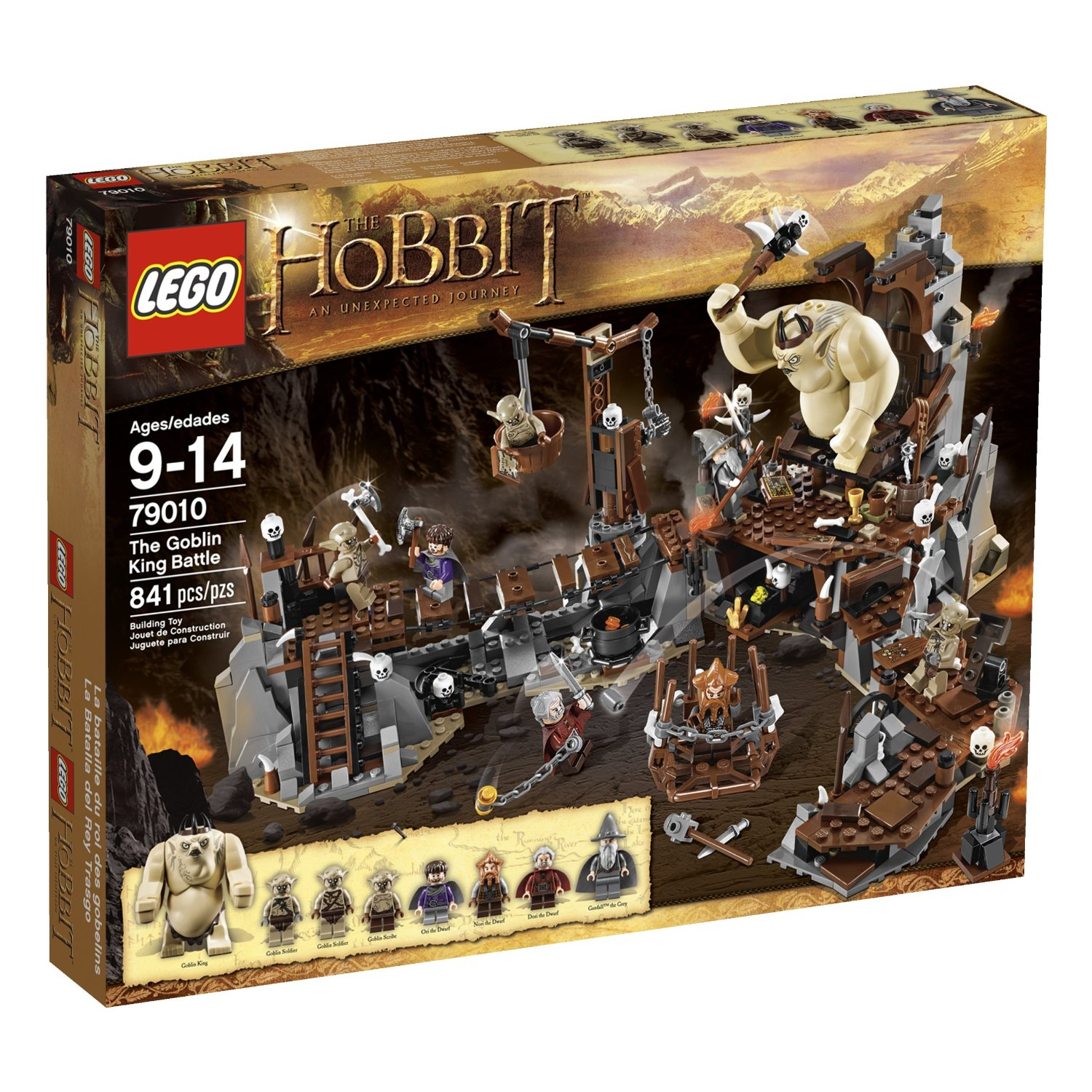 LEGO The Hobbit 79010 The Goblin King Battle