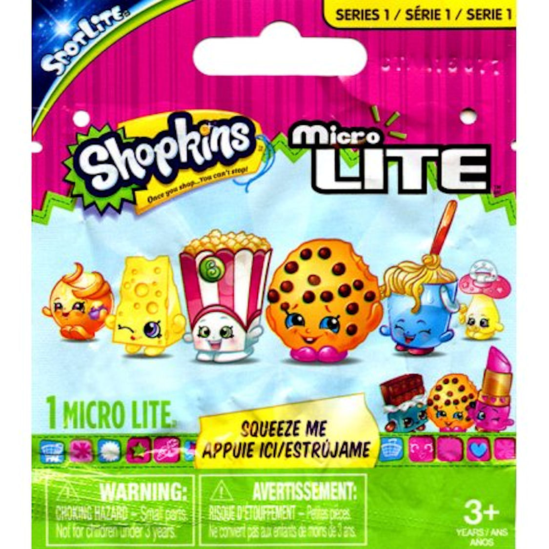 Shopkins Micro Lites Mystery Pack