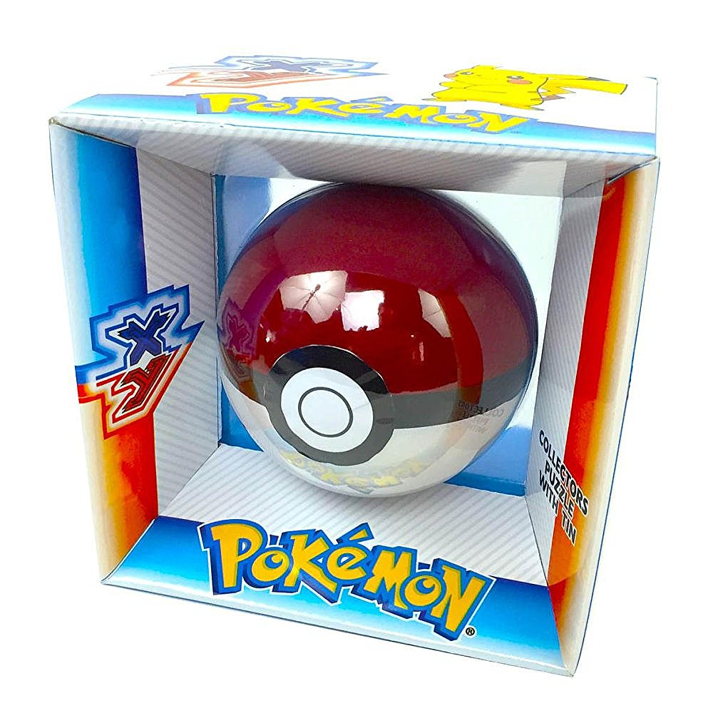 Pokemon XY Collectors Puzzle with PokeBall Tin