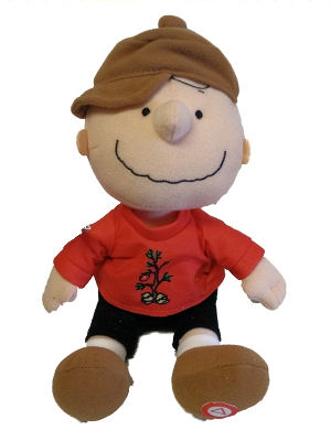 Hallmark Peanuts Christmas Plush Charlie Brown with Sound