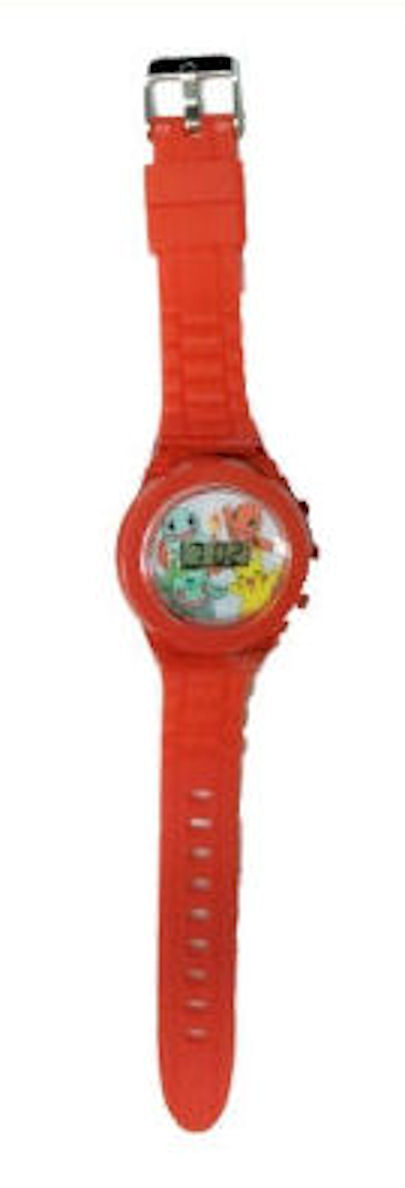 Pokemon Kids Watch Characters Red Strap