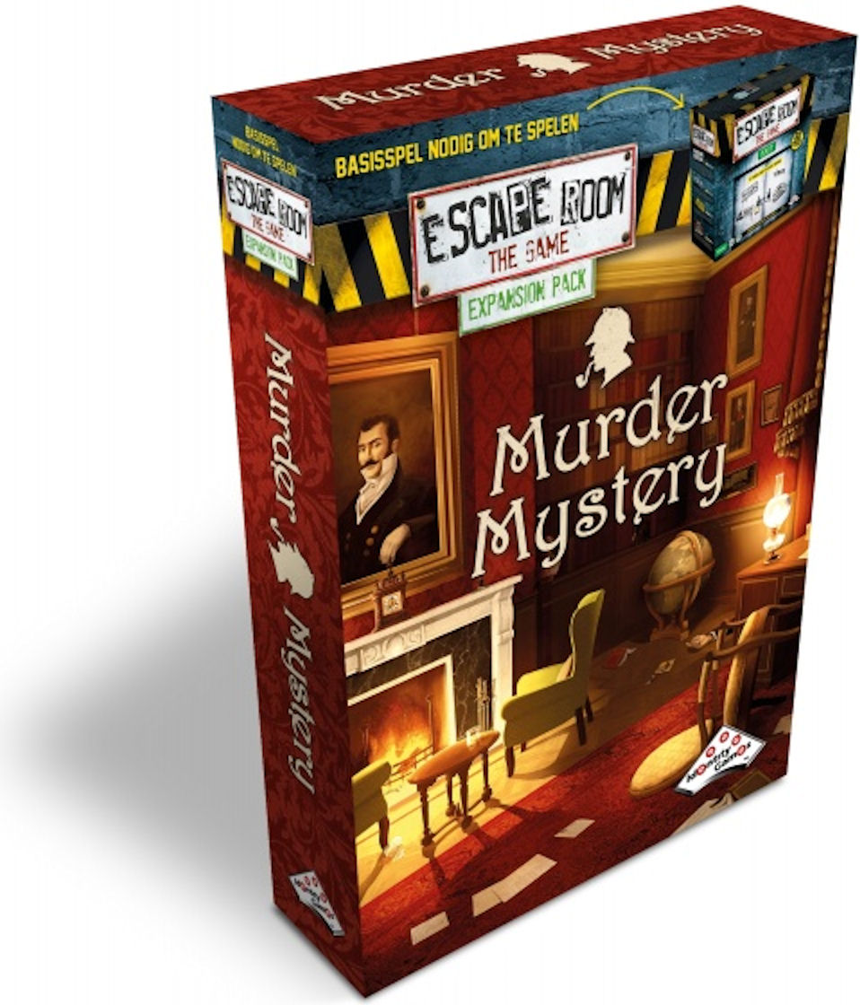 Escape Room the Game Murder Mystery Expansion Pack