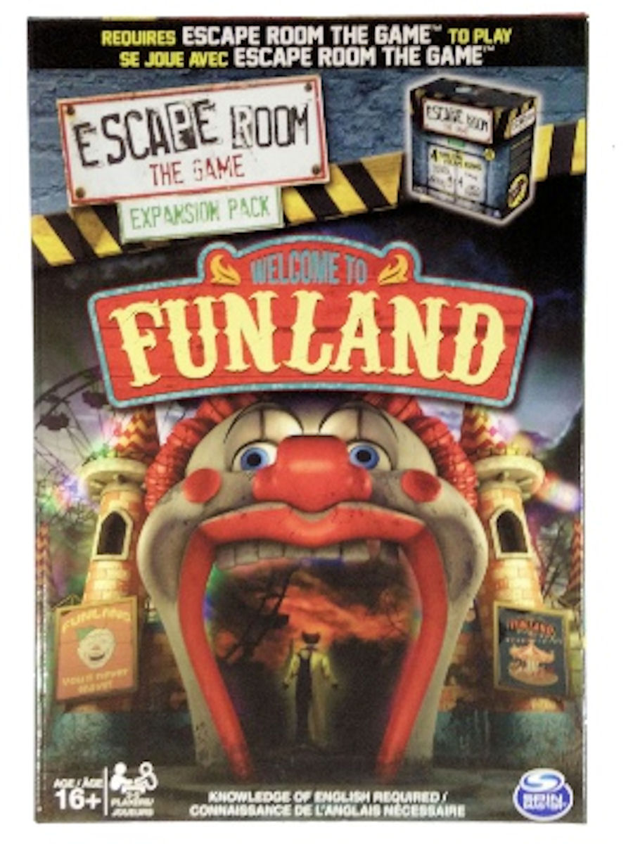 Escape Room the Game Welcome to Funland Expansion Pack