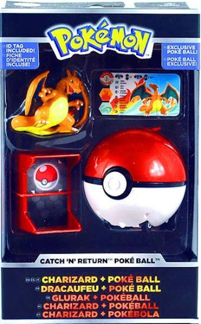 Pokemon Trainer's Choice Catch 'N' Return Charizard + Poke' Ball