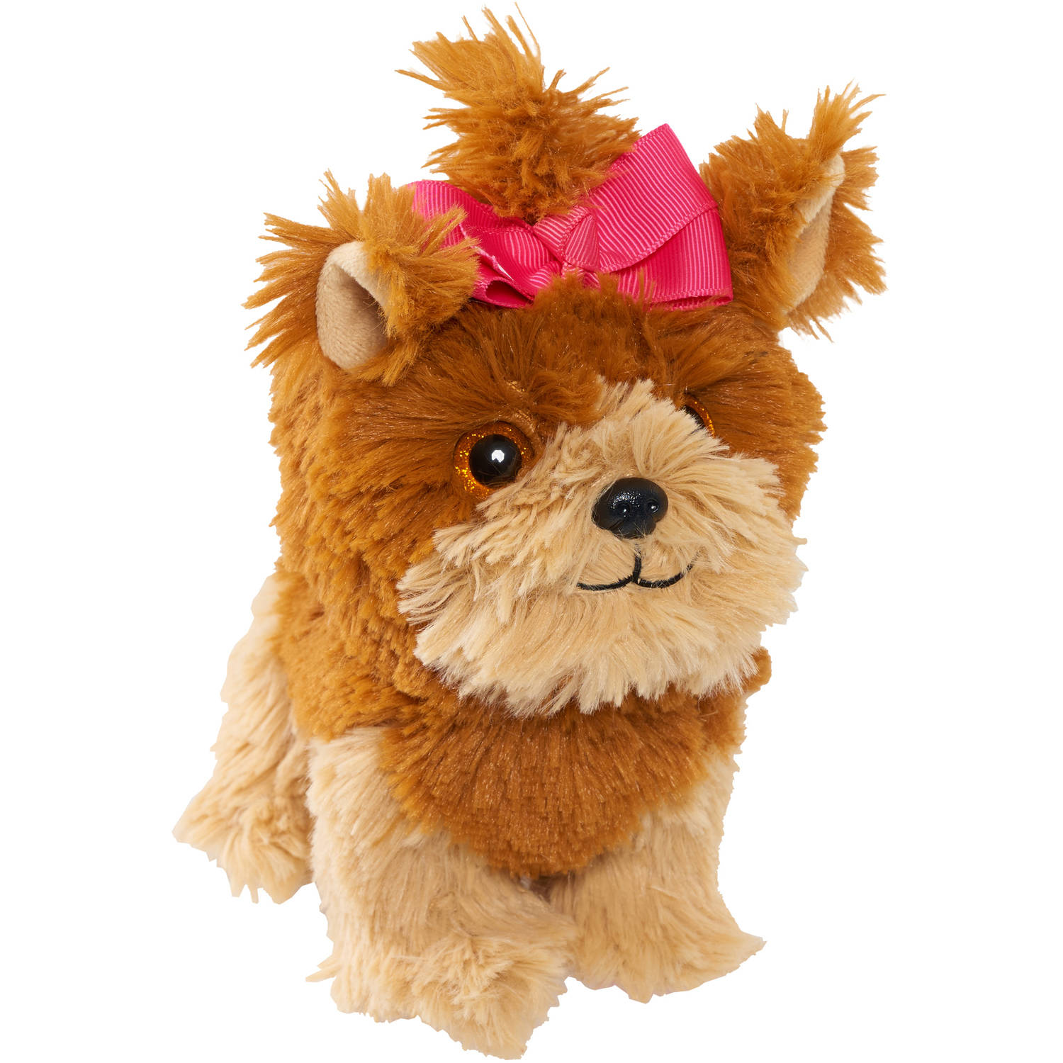 JoJo Siwa Bow Bow Plush Dog with Pink Bow