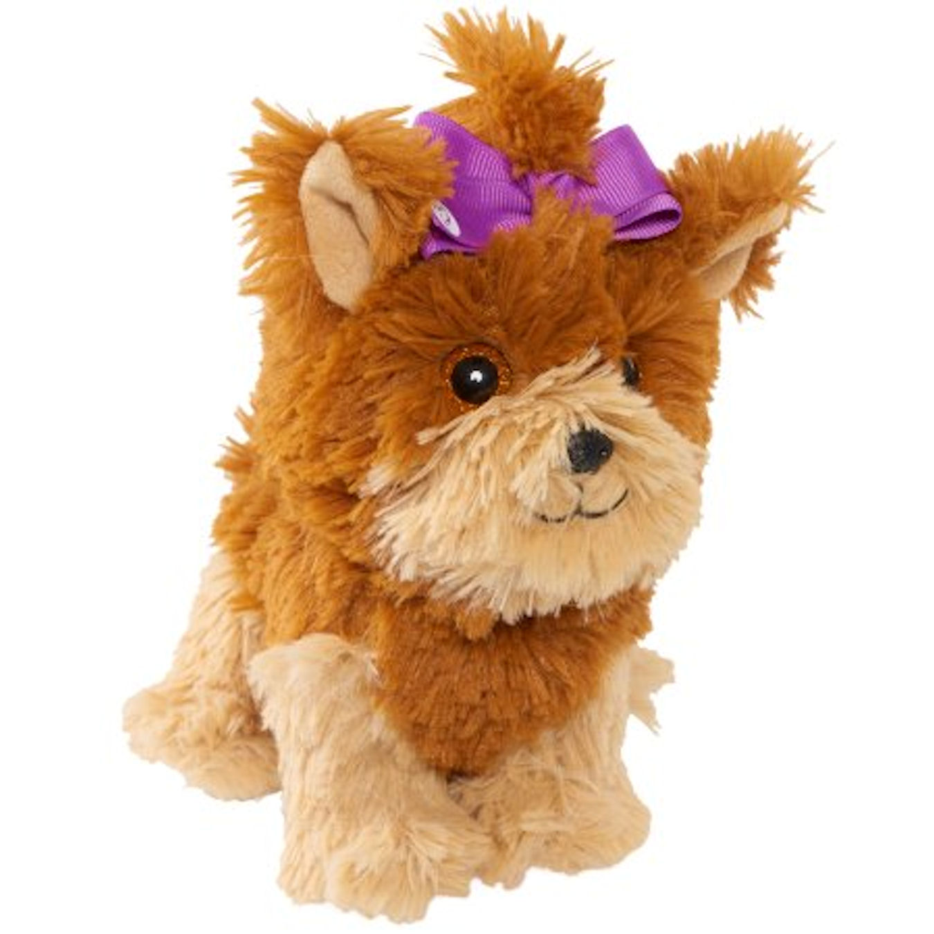JoJo Siwa Bow Bow Plush Dog with Purple Bow