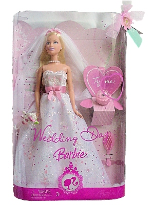 Wedding Day Barbie Doll