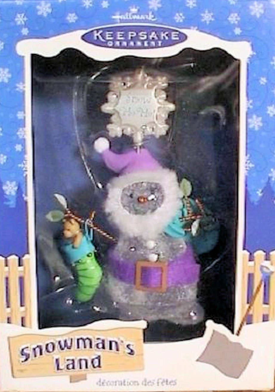 Hallmark Ornament 2003 Snowman's Land Ho Ho