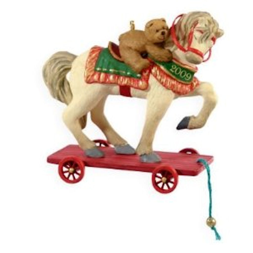 Hallmark Ornament 2009 A Pony for Christmas