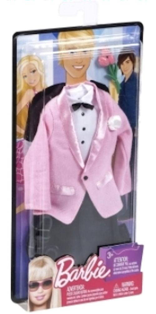 Barbie Ken Fashion Outfit Pink Tuxedo