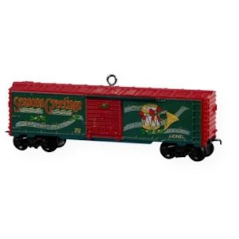 Hallmark Ornament 2009 Lionel Holiday Boxcar