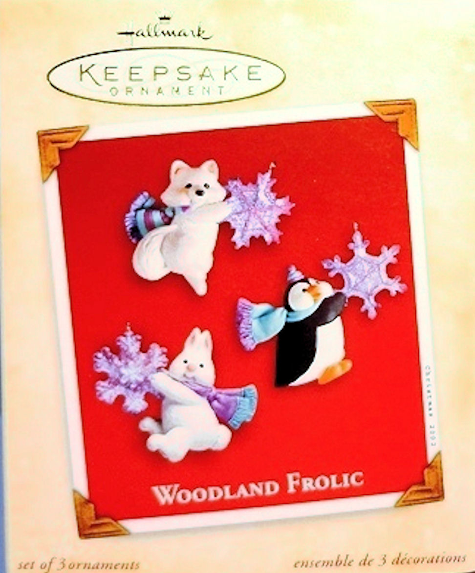 Hallmark Ornament 2002 Woodland Frolic