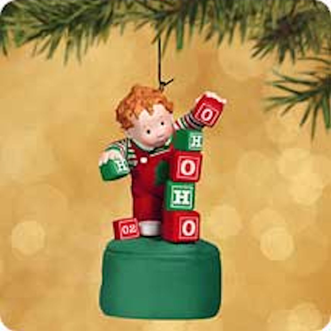 Hallmark Ornament 2002 Teetering Toddler