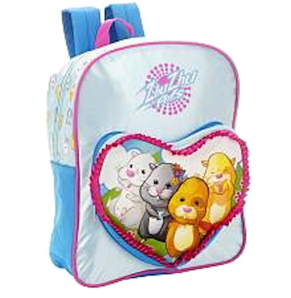 Zhu Zhu Pets Backpack Blue