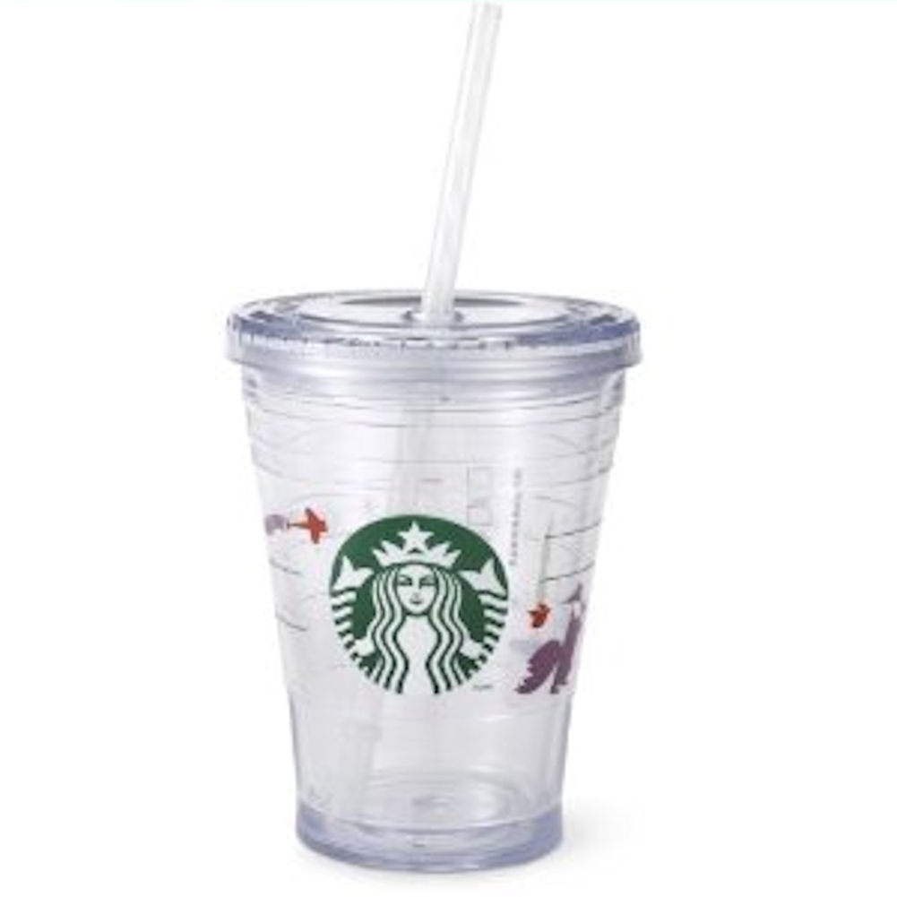 Starbucks Holiday Cold Cup 12oz