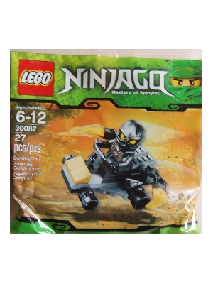 LEGO Ninjago 30087 Cole ZXs Car Bagged